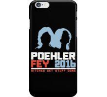 Poehler Fey 2016 funny nerd geek geeky iPhone Case/Skin