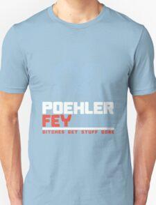 Poehler Fey 2016 funny nerd geek geeky T-Shirt