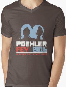 Poehler Fey 2016 funny nerd geek geeky Mens V-Neck T-Shirt