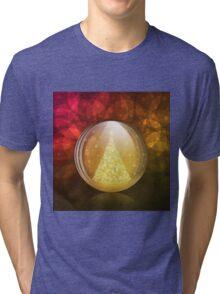 Luminescent snow globe Tri-blend T-Shirt