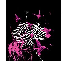 Zebra Orchid by Flylittlebird