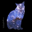 iPad case - Star Cat Zafira by Odille Esmonde-Morgan