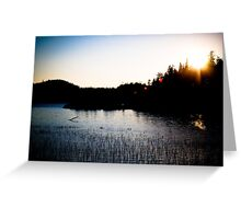 The Most Peaceful Place in the World Greeting Card
