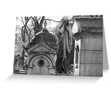 Paris Cemetary Greeting Card