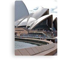Sydney Opera House path Canvas Print