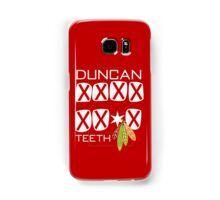 Duncan Teeth_X Samsung Galaxy Case/Skin
