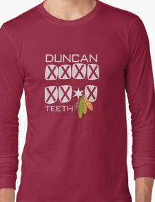 Duncan Teeth_X Long Sleeve T-Shirt