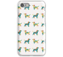 Paper Dogs Pattern iPhone Case/Skin
