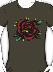 Traditional Rose Tattoo T-Shirt