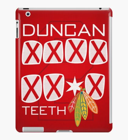 Duncan Teeth_X iPad Case/Skin