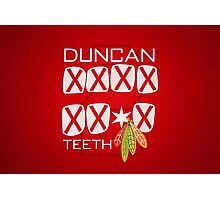 Duncan Teeth_X Photographic Print