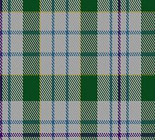 00081 Milne Dress Green Clan Tartan Fabric Print Iphone Case by Detnecs2013