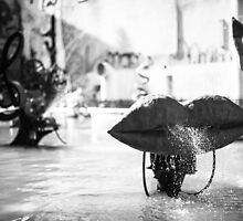 Stravinsky Fountain in Paris by Andrew & Mariya  Rovenko