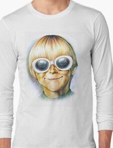 Teenage Spirit - Third grader Kurt Cobain/Nirvana illustration  Long Sleeve T-Shirt