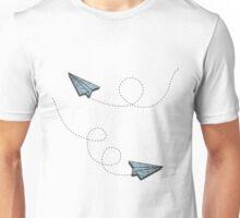 vintage paper planes Unisex T-Shirt