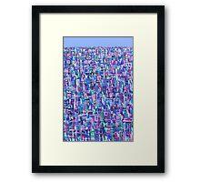 Urban Matrix Framed Print