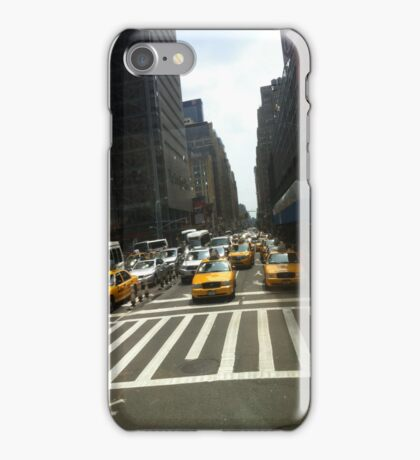 NY cabs. iPhone Case/Skin