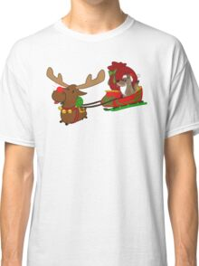 Moose and Trickster wish you a Happy Holidays! Classic T-Shirt