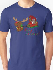 Moose and Trickster wish you a Merry Christmas! T-Shirt