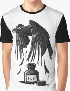 Ink Raven Graphic T-Shirt