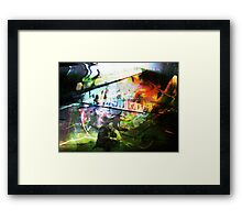 Lonely Person Framed Print