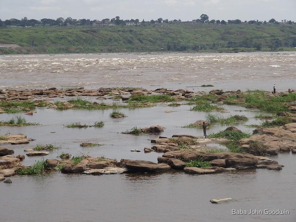 Fishing on the Congo River by Baba John Goodwin