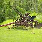 Antique Plow by TCbyT