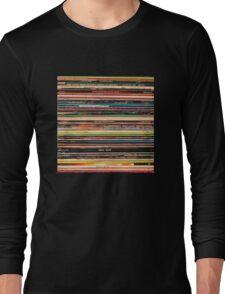 Vinyl Records Alternative Rock Long Sleeve T-Shirt