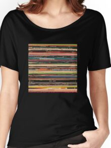 Vinyl Records Alternative Rock Women's Relaxed Fit T-Shirt