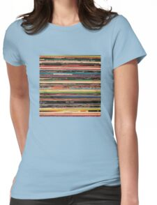Vinyl Records Alternative Rock Womens Fitted T-Shirt