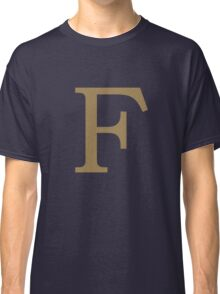 Weasley Sweater - F (All letters available!) Classic T-Shirt