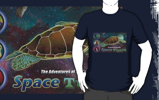 Space Turtle! by marlowinc