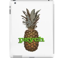 Psych Pineapple iPad Case/Skin