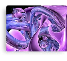 Grape power Canvas Print