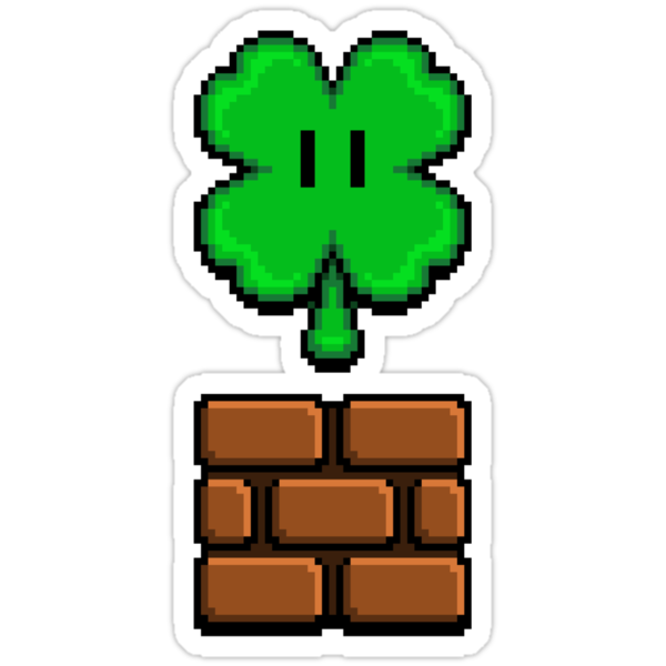 CLOVER POWERUP by DREWWISE