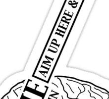 Zombie - Destroy the Brain Sticker