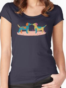 Paper Dogs Women's Fitted Scoop T-Shirt