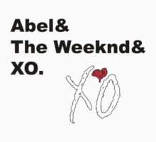 Abel& The Weeknd& XO by YungFly413