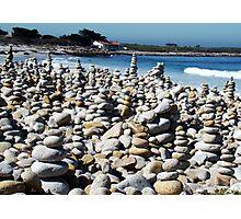 Pebble Beach California Photographic Print
