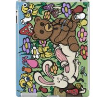 Teddy Bear And Bunny - Chasing The Dragon iPad Case/Skin