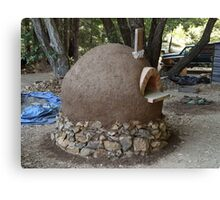 Earth Oven Canvas Print