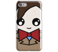 Dr Who 11th Doctor Squ'ed iPhone Case/Skin