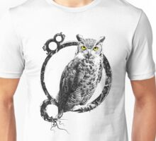 Horned Owl Unisex T-Shirt