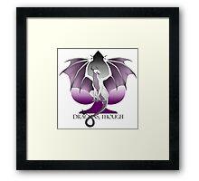 Dragons, Though  Framed Print