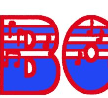 Oboe Red White & Blue I Sticker