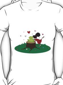 Sister Kisses A Frog T-Shirt