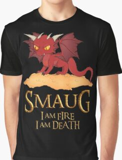 Smaug The Dragon Graphic T-Shirt