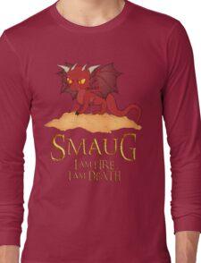 Smaug The Dragon Long Sleeve T-Shirt
