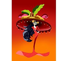 Gothic with big hat Photographic Print