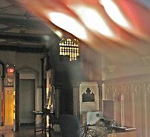 Strange Image From Inside The Castle by Jane Neill-Hancock
